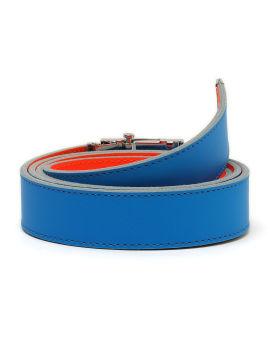 Two-tone buckle belt