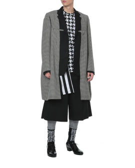 Deconstructed long blazer