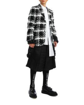 Tweed effect blazer
