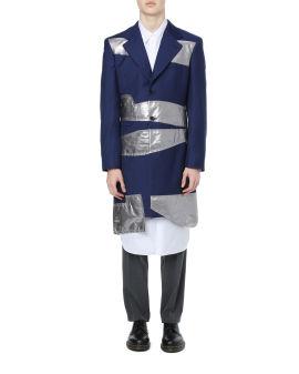 Asymmetrical contrast overcoat