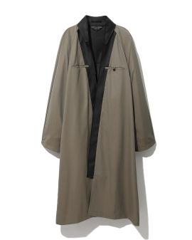 Contrast panel overcoat