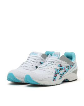 X ASICS leopard printed sneakers