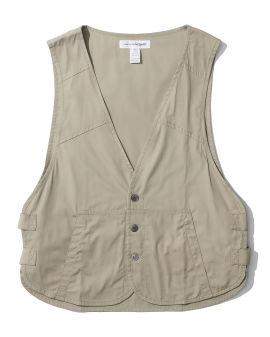 Cotton vest coat
