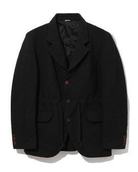 Drawstring blazer