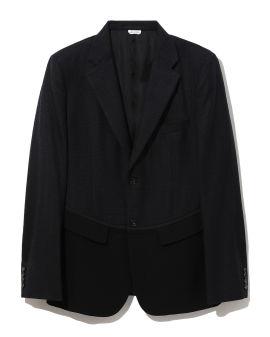 Colour blocked blazer