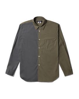 Colour blocked shirt