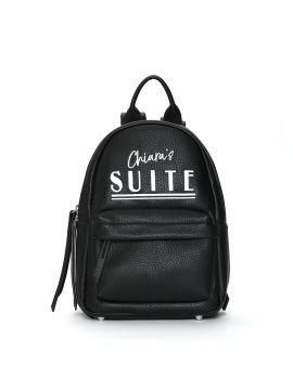 """""""Suite"""" embroidered logo backpack"""