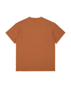 Script embroidery tee