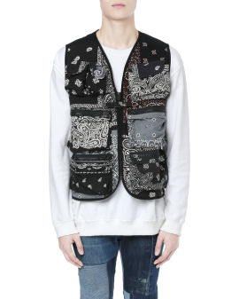 Printed utility vest