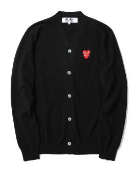 Double heart cardigan