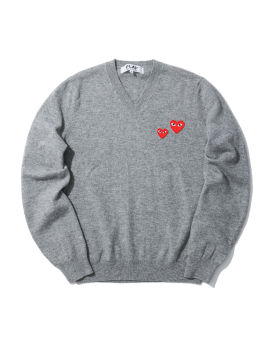 Double heart sweater