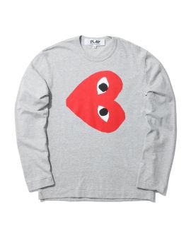 Tilted heart logo tee
