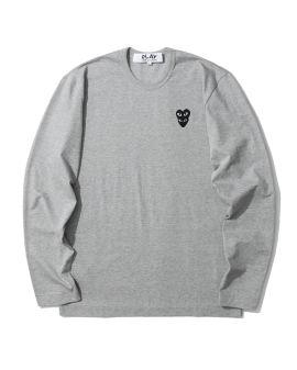 Double heart long-sleeve tee