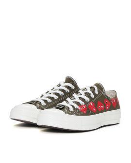 X Converse multi heart Chuck Taylor sneakers