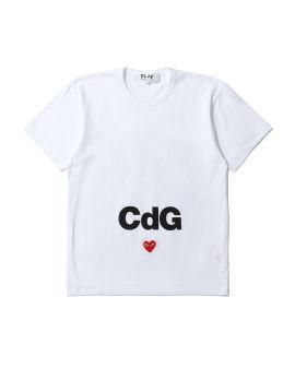 X CDGCDGCDG logo tee