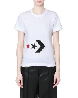 X Converse logo tee