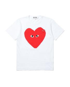 Layered heart logo tee