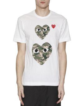 Heart logo print T-shirt
