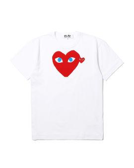 Layered heart tee
