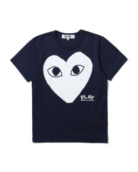 Graphic heart logo tee