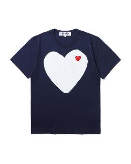 Heart logo print tee