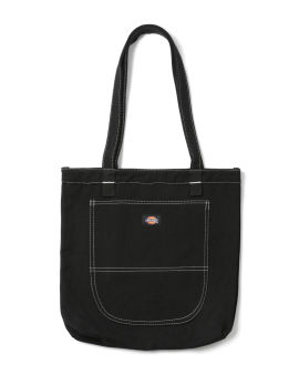 Label patch tote bag
