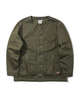 Contrasting jacket