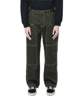 Contrast stitch pants
