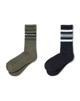 Logo intarsia socks – 2 packs