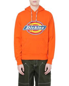 Logo graphic hoodie