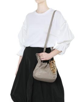 Santa Monica with chain wristlet bag