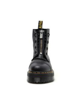 High-top zipper sneakers