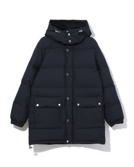 Patch pocket puffer coat