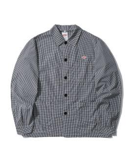 Patch pocket check jacket