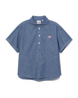 Logo denim shirt