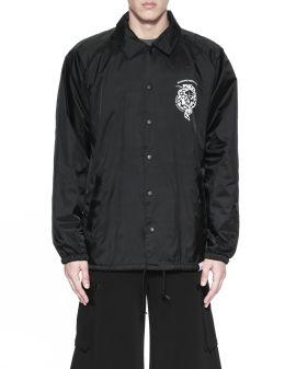 Venom print coach jacket