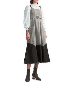 Seam detail dress