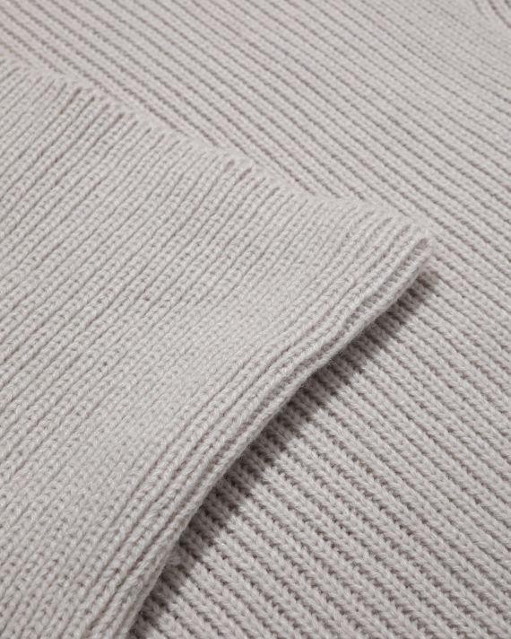Draped knit turtleneck top image number 5