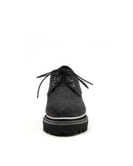 Glittery Oxford platform shoes