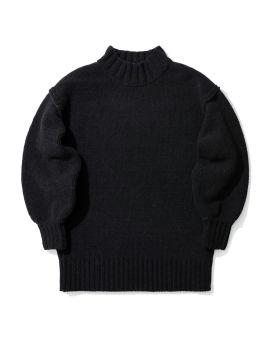 Ribbed hem knit sweater