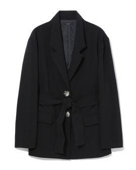 Self-tie blazer