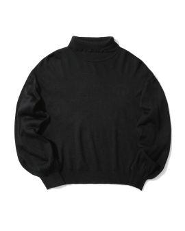 Lettuce trim knit sweater
