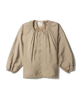 Collarless light jacket