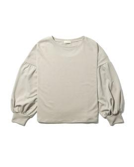 Pleated sleeved top