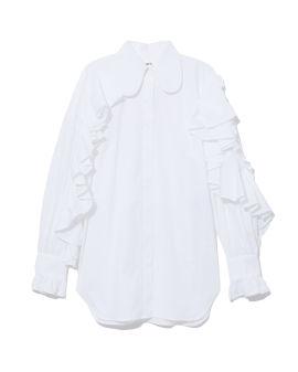 Ruffles-trimmed shirt