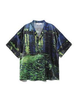Painting print shirt