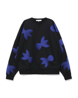 All-over patterned sweatshirt