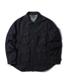 Flap pocket shirt jacket