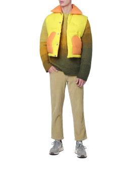 Panelled vest coat