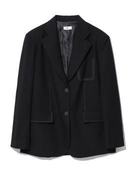 Contrasting blazer